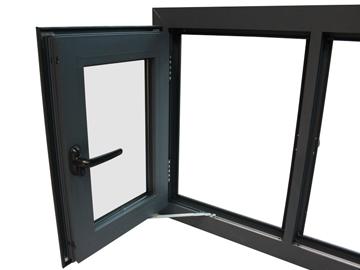 Ramen Deuren Kozijnen : Aluminium kozijnen ramen en deuren glashandel in t gooi